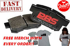 PBS RACE TRACK DAY BRAKE PADS FOR HONDA CIVIC 262 EF EG EK FRONT PRORACE 1286