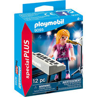 Playmobil Singer With Keyboard Building Set 9095 NEW Toys Building Education