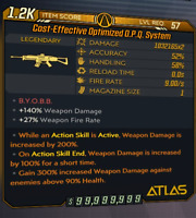 Borderlands 3 - Modded O.P.Q. System Assault Rifle PC/PS4/XBOX ONE