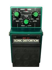 Maxon SD-01, Sonic Distortion, Made In Japan, 1980s, Vintage Guitar Effect Pedal