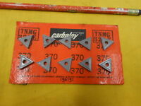 10 CARBOLOY USA TNMG 321 E INDEXABLE CARBIDE INSERTS lathe mill tool bits