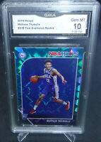 2019-20 Hoops Teal Explosion Matisse Thybulle Rookie Card GMA Graded Gem Mint 10