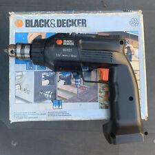 Black & Decker BD7221 - H1 Cordless Drill ~ Bare Unit Only