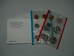 Nice 1970-S/S Lincoln Cent Mint Set Uncirculated Condition!