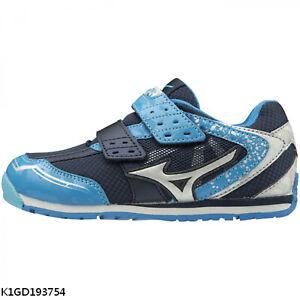 Mizuno Asobi Kids [K1GD193754] Kids Running Shoes Navy / Silver / Blue