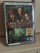 SPECIAL EDITION DISNEY PIRATES OF THE CARIBBEAN DEAD MANS CHEST DVD SEALED