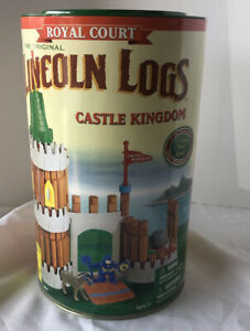 Vintage LINCOLN LOGS-ROYAL COURT- CASTLE KINGDOM- NOS!! Factory Sealed! 00907