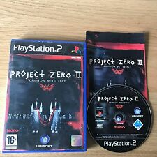 Project Zero II Crimson Butterfly PS2 PlayStation 2 Game | PAL Complete | Horror