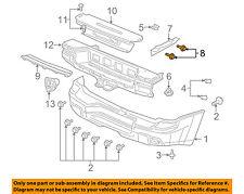 GM OEM Rear Bumper-Side Bracket Bolt 11561025