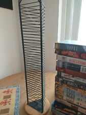 Black Metal Cd Tower