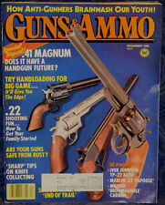 Magazine GUNS & AMMO December 1986 !!F.O.Model 713 MAUSER BROOMHANDLE CARBINE!!
