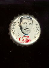 1964 65 COCA-COLA COKE BOTTLE CAP WITH CORK  BILL GADSBY DETROIT RED WINGS