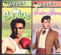 ELVIS PRESLEY PAIR OF VHS MOVIES NEW/STILL SEALED Frankie & Johnny + Kid Galahad