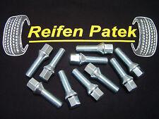10x Radschrauben Bolzen für Spurplatten Kegel M14x1,5x40 Audi A3 A4 A5 A6 A8 TT