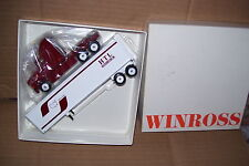 1994 HTL Truck Lines Omaha Nebr. Winross Diecast Delivery Trailer Truck