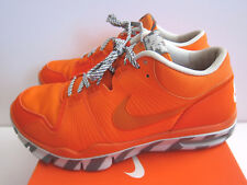 NIKE AIR TRAINER 1 VINTAGE BOX SZ 9.5 SAFETY ORANGE GRAY BO JACKSON 371378-881