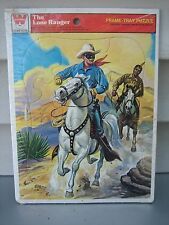 VINTAGE THE LONE RANGER FRAME TRAY PUZZLE 1960'S WHITMAN NEW FACTORY SEALED