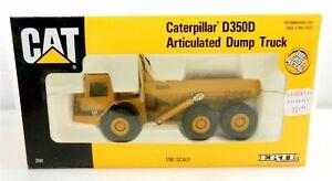 ERTL 1/50 Scale Die Cast #2431 ~ CAT D350D ARTICULATED DUMP TRUCK ~ NIB ~ T173