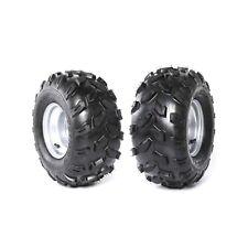 "2pcs 18X9.50- 8"" inch Rear Wheel Rim + Chunky Tyre Tire Quad Dirt Bike ATV Buggy"