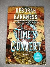 ARC Deborah Harkness Time's Convert Advanced Reading Copy