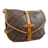 LOUIS VUITTON SAUMUR 30 MESSENGER SHOULDER BAG MONOGRAM M42256 AR0950 30755