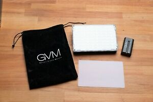 GVM RGB-10S On-Camera RGB LED Video Light w/Wi-Fi