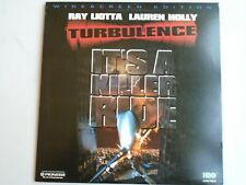 TURBULENCE LASERDISC widescreen NTSC Ray Liotta