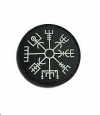 "The Viking Vegvisir Rune GLOW IN THE DARK 2x2"" PVC Morale Patch"