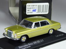 (KI-10-20) Minichamps Mercedes 300 SEL 6,3 gold metallic in 1:43 in OVP