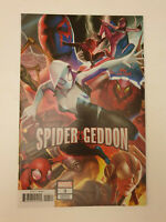 Spider-geddon #3 In Hyuk Lee Connecting Variant NM 1st Print Marvel