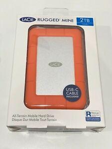 LaCie Rugged Mini 2TB External Portable Hard Drive - USB 3.0 - 9000298