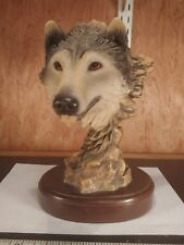 "Mill Creek Studios # 4103 ""Before The Chase"" Wolf Sculpture (shelf5)"