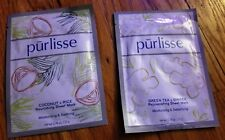 LOT Pur-lisse Nourishing Sheet Masks Coconut + Rice & Green Tea + Ginger