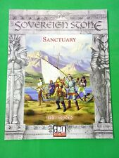 Sovereign Stone Rpg Sanctuary d20 System Sc Used