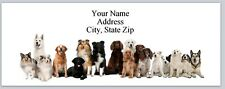 30 Return Address Labels Dogs Buy 3 get 1 free (p 266)