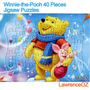Hot New Disney 40 Pieces Winnie the Pooh Jigsaw Puzzle Best Gifts for Kids - 3#