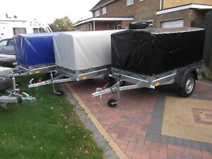 Brand NEW Car trailer camping 750kg 203cm x 112cm + top cover 80cm