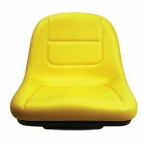 Yellow Seat for John Deere Riding Mowers L100 L110 L120 L130 G110 L105 L107 L118