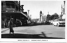 BRISBANE ST IPSWICH QLD PHOTO POSTCARD SHOWING NORTH STAR HOTEL
