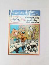 BD Boule et bill contre les mini requins / 1985 / ROBA / Trésors des mini récits