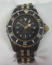 Vintage Heuer 1000 Series Quartz Two Tone Stainless Steel Ladies Watch 980.028N