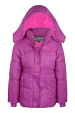 Manteaux, vestes et tenues de neige avec capuche en polyester pour fille de 6 à 7 ans
