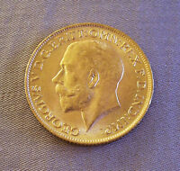 1911 GOLD Coin George Georgivs V D.G. Britt Great Britain British OMN REX