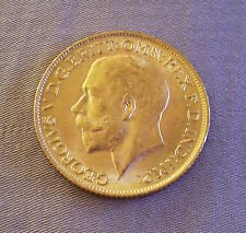 1911 GOLD Coin George Georgivs V D.G. Britt Great Britain British OMN REX