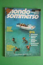 Magazine MONDO SOMMERSO n.204/1977 + supplemento Rivista internazionale del mare