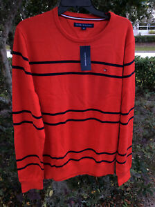 $64.99 Tommy Hilfiger Men's  Cotton  Crew Neck Sweater XL