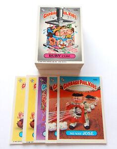 1986 Topps Garbage Pail Kids Partial A B Set (86/88) Missing #156A #165A