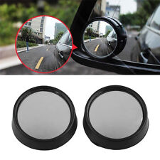 2Pcs Auto Car Vehicle Side Small Round Convex Blind Spot Rearview Mirror