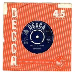 "SMALL FACES - SHA-LA-LA-LA-LEE / GROW YOUR OWN.UK ORIG 1966 7"" & CO/SL.VG"