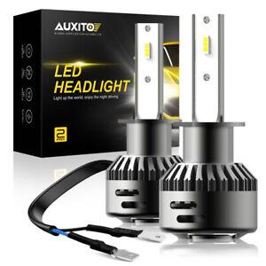 AUXITO H1 CSP LED Headlight Bulbs Kit 90W 20000LM 6000K High Low Beam Fog Light